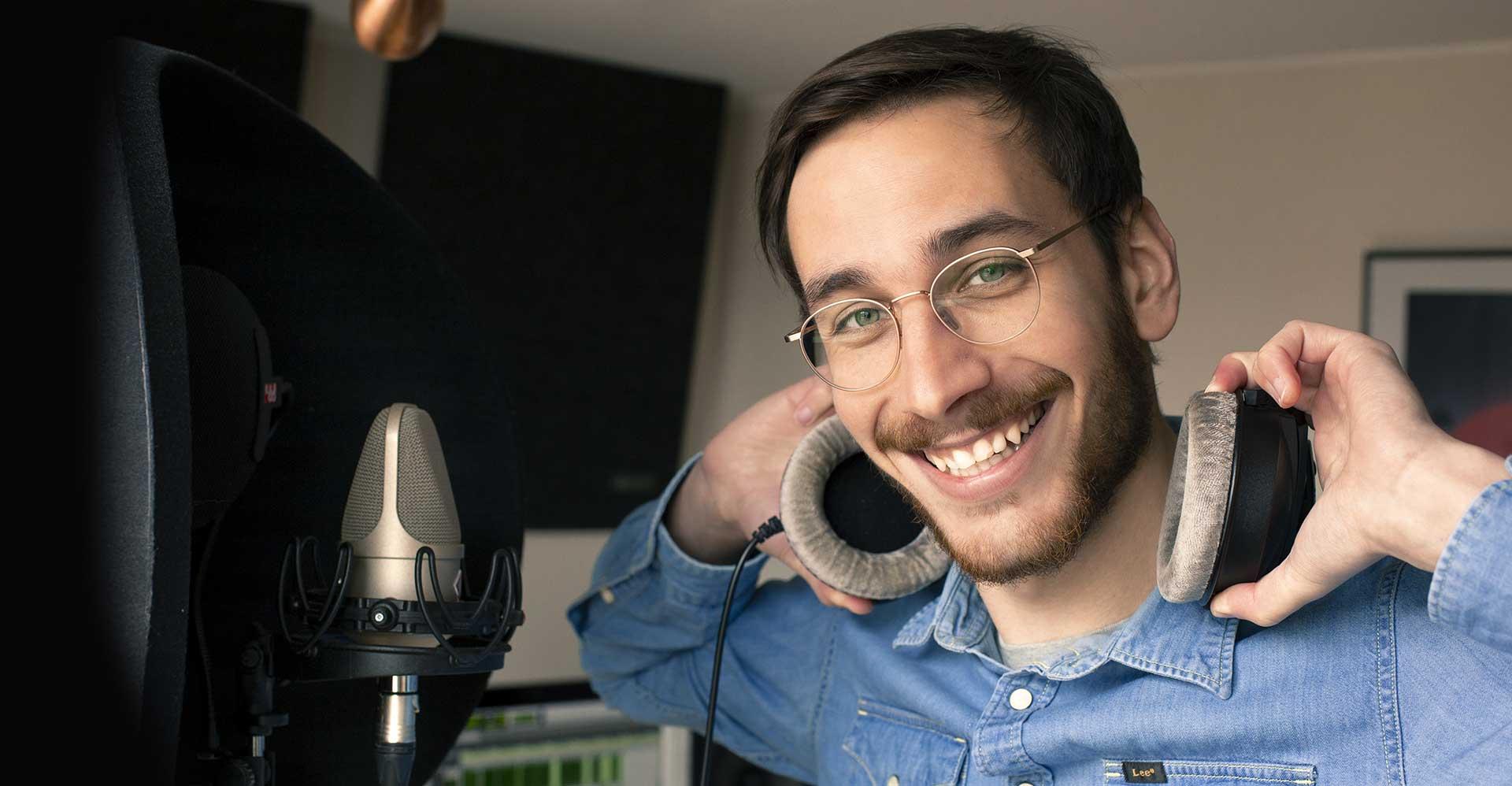 Clement Delsaux - Studio voix off